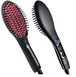 Simply Straight Hair Straightener Brush with salon results