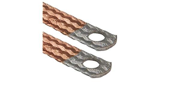 Auprotec/® cavo di massa Bandelle di connessione con terminali zincati 16 mm/² 70 mm/²