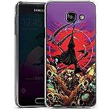 Samsung Galaxy A3 (2016) Housse Étui Protection Coque Faucheur Tête de mort Faux