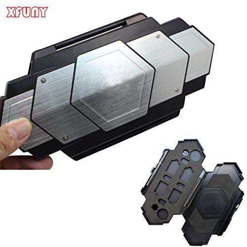 XFUNY (TM) Super Cool Hard Protective Case Cover Shell Box Storage Bag Steel Armor Case for PlayStation Vita PS Vita PSV 1000 by XFUNY