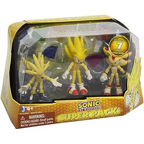 Sonic The Hedgehog - Figura de juguete Sonic (Jazwares 65380)