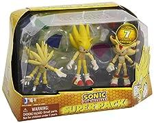 Sonic The Hedgehog 3-inch Figure Super Pack