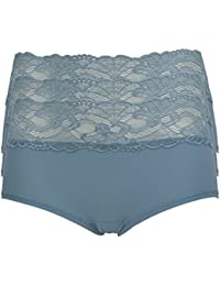 Ex-Store Embroidered Mesh Shorts Turquoise
