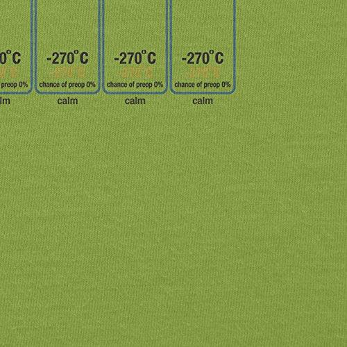 NERDO - Deep Space Weather Forecast - Damen T-Shirt Kiwi