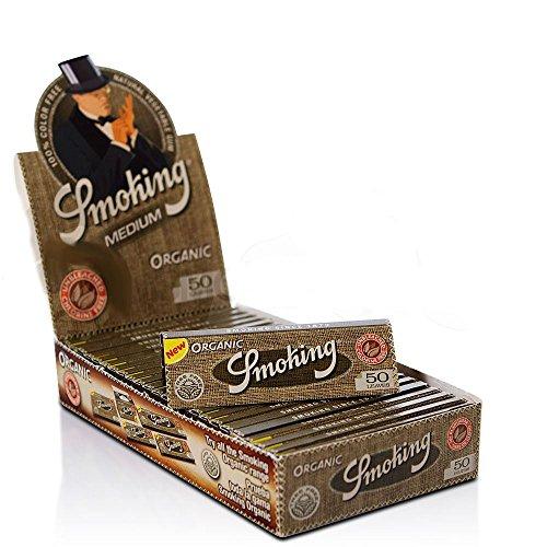 Räuchermännchen Zigarettenpapier Neue Ohrhänger Damen Organic Schmuck box mit 25 Heftchen Medium Full