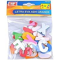 MP PM152 - Blíster de letras del abecedario de goma eva adhesivas