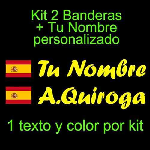Vinilin Pegatina Vinilo Bandera España Escudo + tu
