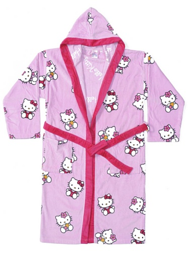Hello Kitty Home Kitty Spring – Albornoz para mujer, L