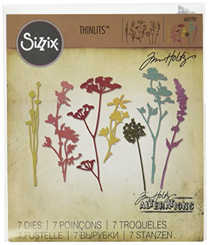 sizzix-wildflowers-by-tim-holtz-thin-its-die-set-multi-colour-pack-of-7
