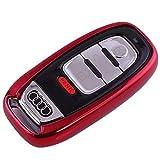 Kaktus Smart Key Protection Shell Autoschlüssel Schutzhülle für Audi 3 Tasten Schlüssel (Keyless Version)