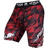 Venum Herren Tecmo Vale Tudo Shorts, Rot/Weiß, M - 4