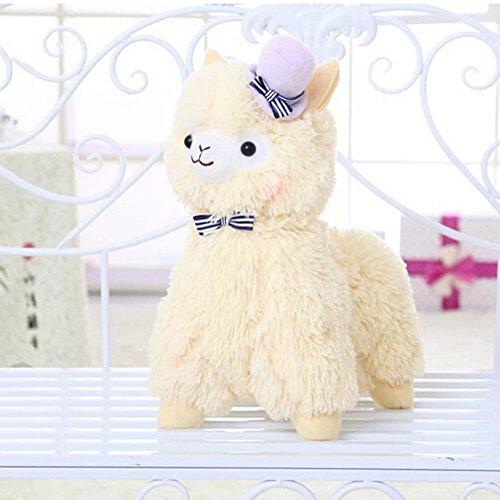 Botetrade Kawaii Liebe-Hut Alpaca Lama Pl¨¹sch 35cm Hoch