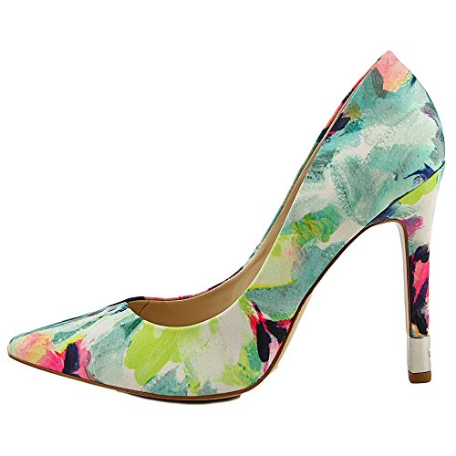 Guess Babbitta 3 Toile Talons Green Multi