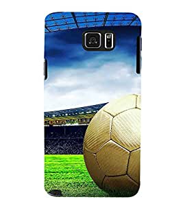 Fuson Designer Back Case Cover for Samsung Galaxy Note 5 :: Samsung Galaxy Note 5 N920G :: Samsung Galaxy Note5 N920T N920A N920I (Football Game Sport stadium Playground)
