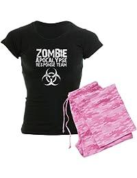 CafePress Mujer Dark pijama–CDC Zombie Apocalypse respons Mujer Dark pijama