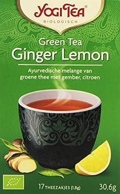 Yogi Tea Thé Vert Gingembre Citron 17 Sachets