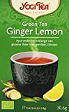 Yogi Tea Thé Bio vert gingembre Citron 17 sachets