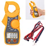 uptodateproducts Portable LCD Digital Clamp Ampere AC DC Voltage Multi Meter Current OHM Tester