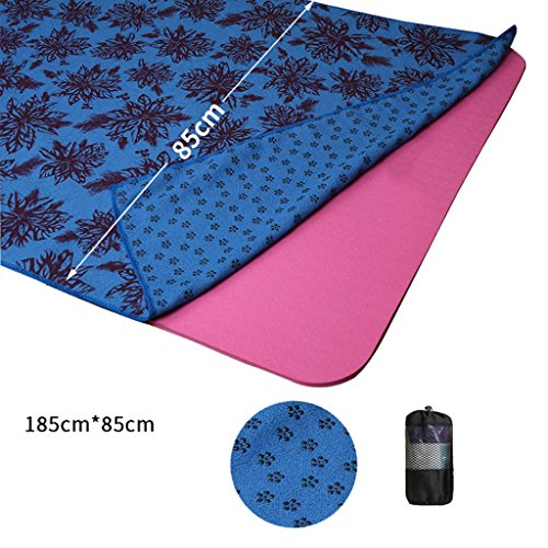 YB- Toalla de Viaje rápido para Deportes + Viaje - Ligero - Altamente Absorbente - Compacto - Microfibra Suave - Grande - Incluye Bolsa de Almacenamiento (Color : C, Tamaño : 185 * 85cm) preisvergleich