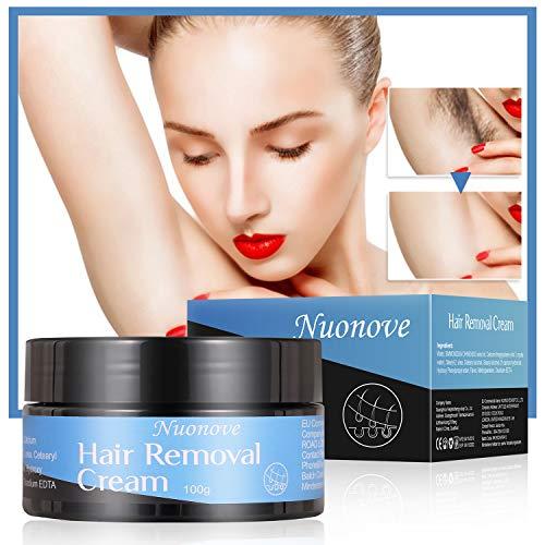Crema Depilatoria Uomo, Crema Depilatoria Donna, Hair Removal Cream, Indolore Crema Di Rimozione, Lenitiva Rinfrescante Rapido...