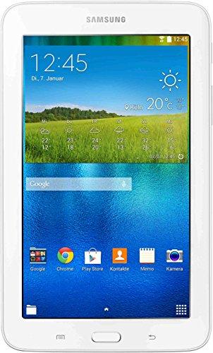 Samsung Galaxy TAB 3 7.0 lite SM-T113NDWADBT 17, 78 cm (7 Zoll) Tablet-PC (Quad-Core-Prozessor, 1 GB, Android 4.4) weiß (Lite Tab 7 4 Galaxy Samsung)