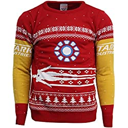 Official Marvel Iron Man Christmas Jumper/Ugly Sweater - UK 3XL/US 2XL
