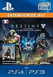 Destiny Extension II : La Maison des Loups [Code Jeu PSN PS3/PS4 - Compte français]