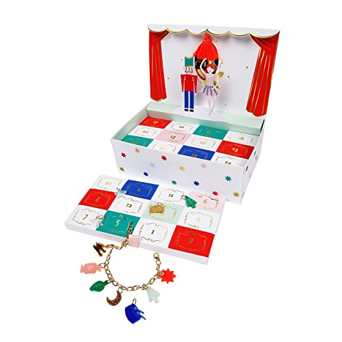 Nutcracker Theatre Charm Bracelet Advent Calendar