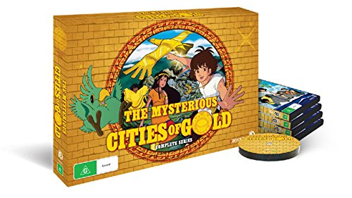 Die geheimnisvollen Städte des Goldes / The Mysterious Cities of Gold (Complete Series) - 5-DVD Box Set ( Taiyô no ko Esteban ) [ Australische Import ]