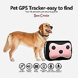 Neue GPS Haustier-Verfolger Smart Wifi Mini Tracker, Haustier-Tag Tracker, Wasser Proof Hals Finder, Security Alarm Best für große Mittlere Kleine Haustiere