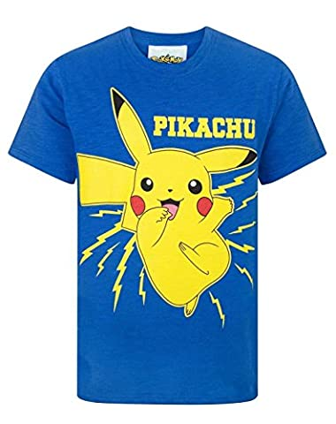 Pokemon Pikachu Bolt Boy's T-Shirt (7-8 Years)