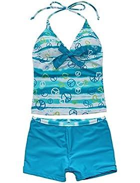 YiZYiF Mädchen Bikini 2tlg. Set Badeanzug Kinder Mädchen Bademode Schwimmanzug Badebekleidung 122-176