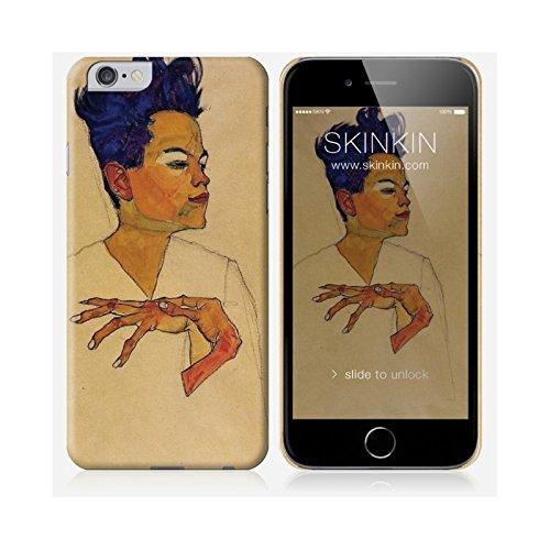 iPhone 6 Case, Gehäuse, Schutzhülle - Originales Design : Auto-Portrait von Egon Schiele
