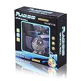Formulaone OCDAY Flying Crystal Ball LED Lampeggiante induzione Elicottero Giocattolo Palla Galleggiante sensore di Volo Giocattoli Aerei Regalo per i Bambini - Trasparente