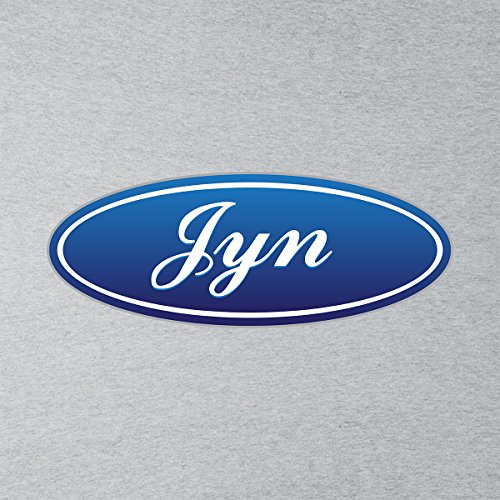 Star Wars Rogue One Jyn Ford Car Badge Men's T-Shirt Heather Grey