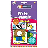 Galt Toys Water Magic Flip Book Jungle, Colouring Book for Children