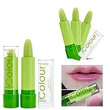 Maquillaje: Pintalabios que cambia color, lápiz labial verde con efecto mágico cambiante - Pink [version:x9.4] by DELIAWINTERFEL