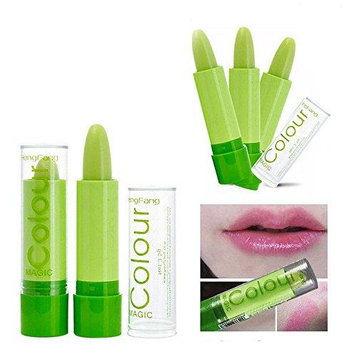 Make-up: Farbe wechselnden Lippenstift, grünen Lippenstift mit magischen Effekt ändern - Pink by...
