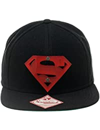DC Comics Superman Man of Steel Acrylic Logo Snapback Baseball Kappe