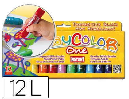 Playcolor 58231 - Témpera sólida