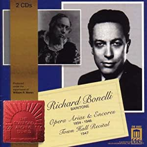 Richard Bonelli,Bariton