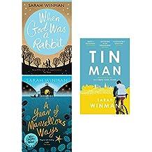 Sarah winman collection 3 books set (when god was a rabbit, a year of marvellous ways, tin man)