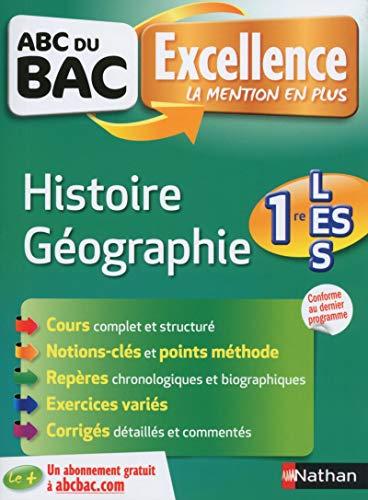 ABC du BAC Excellence Histoire-Géographie 1re L-ES par Guillaume Gicquel, Servane MARZIN, Alain Rajot