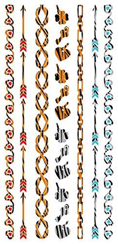 stickers-de-tatouage-temporaire-non-permanent-pour-lart-corporel-chaine-zebre-v4516m-temporary-tatto