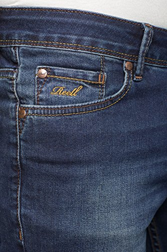 REELL Men Jeans Spider Artikel-Nr.1102-001 - 02-061 Dark Blue Used