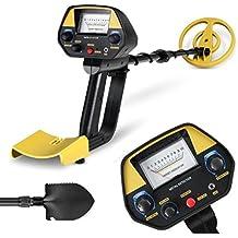 INTEY Metal Detector con Pinpoint Targeting Discriminazione e sensibilità regolabili