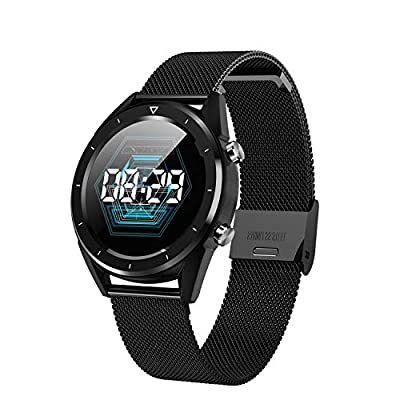 iSTYLE Color Screen Smart Watch for iOS and Android, Activity Fitness Tracker, Men Wristband, Heart Rate and Blood Pressure Monitoring, Multi-Function Step Counter from iSTYLE