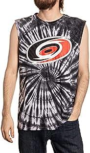 Calhoun NHL Men's Team Logo Spiral Tie Dye Cotton Sleeveless T-S