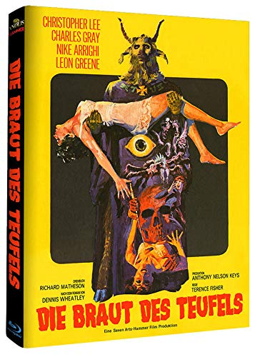 Devil Rides Out - Mediabook - Cover B - Limited Edition - Hammer Edition Nr. 28 [Blu-ray]