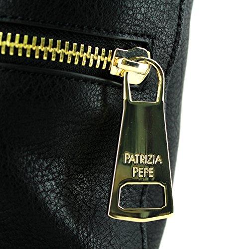 Patrizia Pepe Sac à main porté épaule 30 cm nero